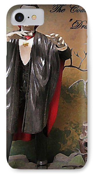 Dracula Model Kit Phone Case by John Malone