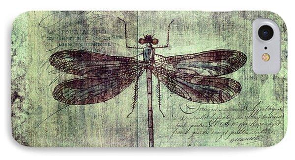 Dragonfly IPhone 7 Case by Priska Wettstein