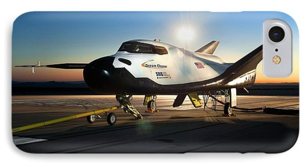 Dream Chaser Spaceplane Testing IPhone Case by Nasa