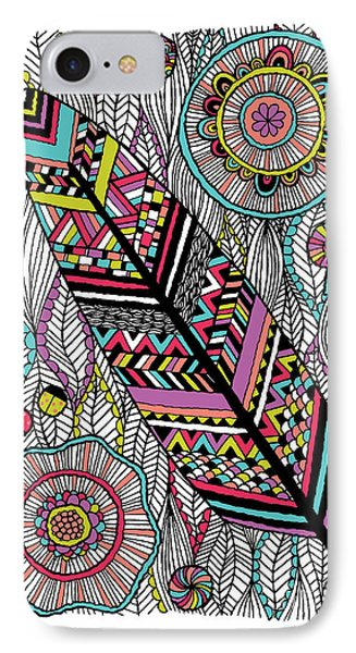 Dream Feather Phone Case by Susan Claire