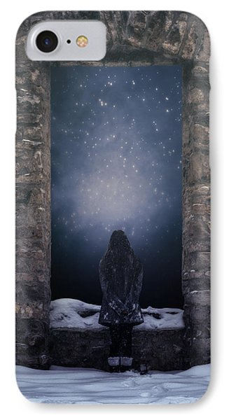 Dreaming In Snow IPhone Case by Joana Kruse