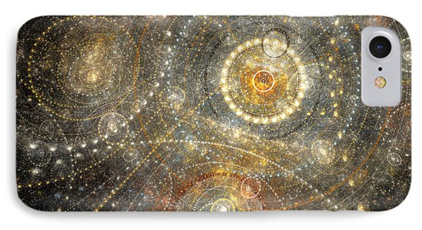 Dreamy Orrery IPhone Case by Martin Capek