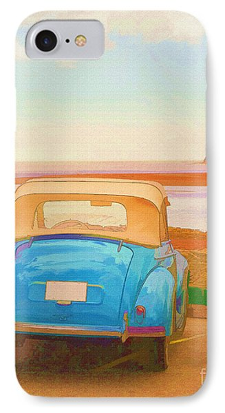 Drive To The Shore Phone Case by Edward Fielding