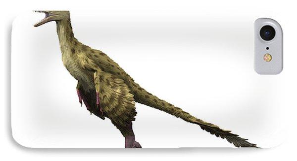 Dromaeosaurus Dinosaur IPhone Case by Nobumichi Tamura