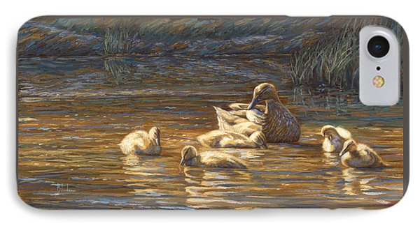 Ducks IPhone Case by Lucie Bilodeau