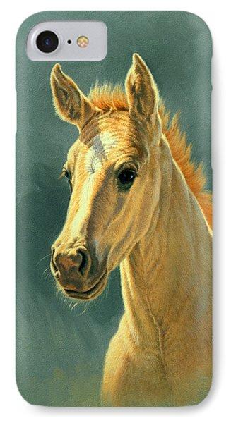 Dun Colt Portrait Phone Case by Paul Krapf