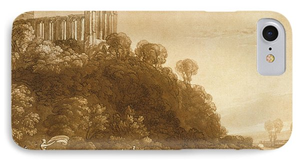 Dunblane Abbey Phone Case by Joseph Mallord William Turner