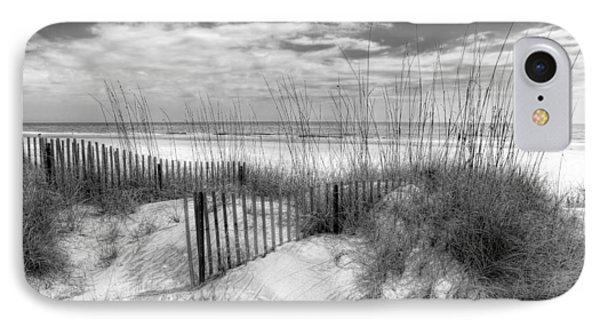 Dune Fences IPhone Case by Debra and Dave Vanderlaan
