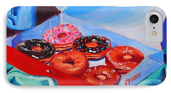 Dunkin Donuts Phone Case by Sean Boyce