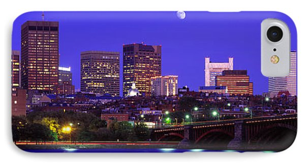 Dusk Charles River Boston Ma Usa IPhone Case by Panoramic Images