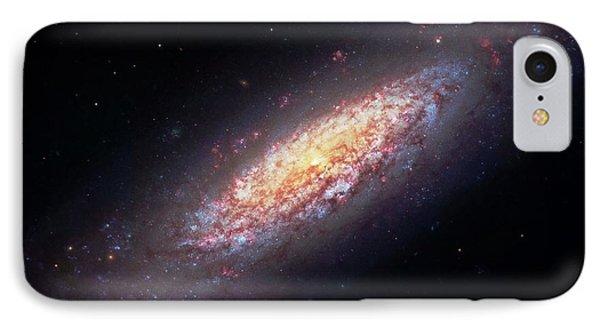 Dwarf Spiral Galaxy Ngc 6503 IPhone Case by Robert Gendler
