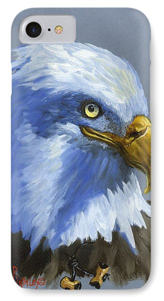 Eagle Patrol IPhone Case by Jeff Brimley