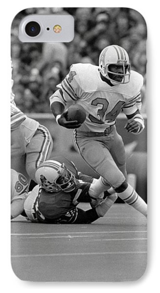 Earl Campbell IPhone Case by Gianfranco Weiss