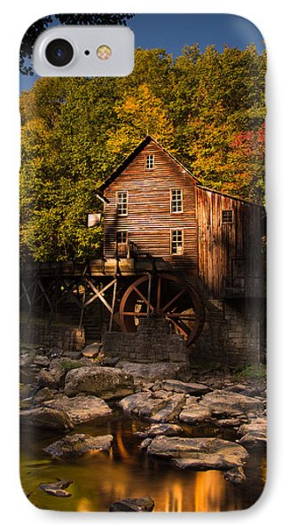 Early Autumn At Glade Creek Grist Mill IPhone Case by Shane Holsclaw