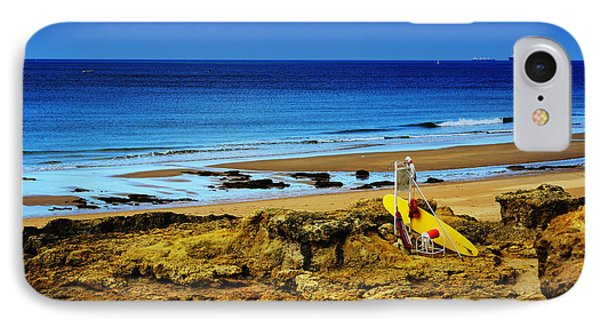Early Morning On The Beach Phone Case by Marco Oliveira