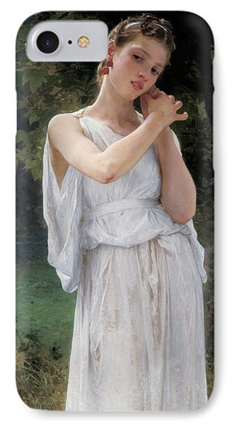 Earrings Phone Case by William Adolphe Bouguereau
