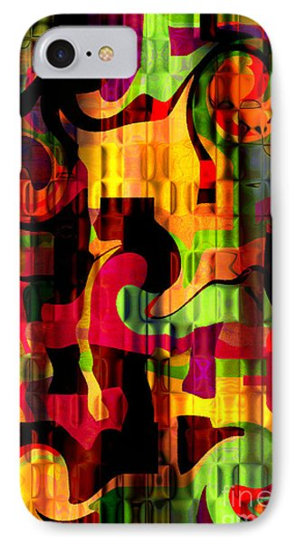 Earthy Abstract IPhone Case by Andee Design
