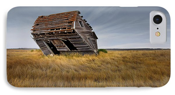 East Montana Texture IPhone Case by Leland D Howard