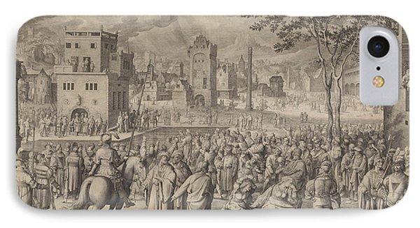 Ecce Homo, Nicolaes De Bruyn IPhone Case by Nicolaes De Bruyn