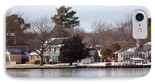 Edenton Waterfront Phone Case by Carolyn Ricks