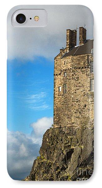 Edinburgh Castle Detail Phone Case by Jane Rix