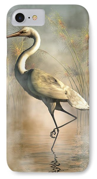 Egret IPhone 7 Case by Daniel Eskridge