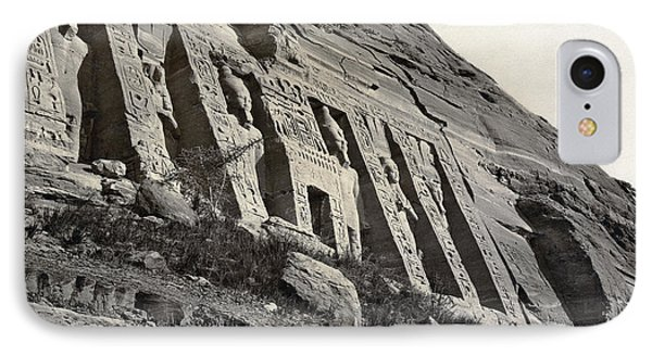 Egypt Abu Simbel Temple IPhone Case by Granger