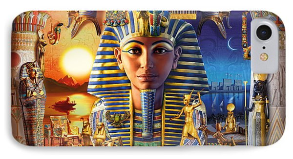 Egyptian Treasures II IPhone Case by Andrew Farley