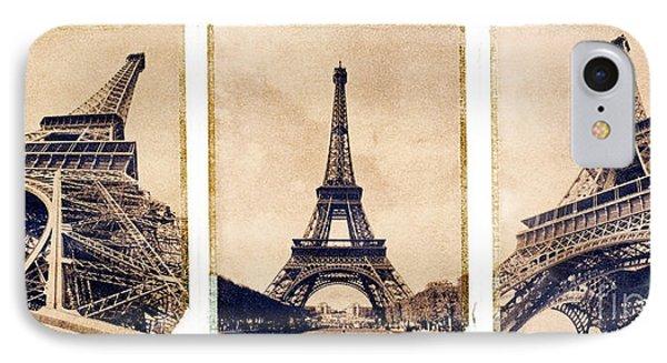 Eiffel Tower Phone Case by Tony Cordoza