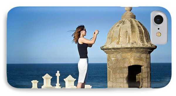 El Morro Fortress And Church IPhone Case by Miva Stock