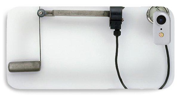 Electric Fuel Gauge IPhone Case by Dorling Kindersley/uig