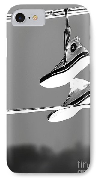 Electric Shoes IPhone Case by Steven Milner