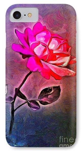 Electro Rose IPhone Case by GabeZ Art