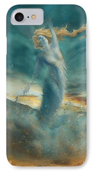 Elements - Wind IPhone Case by Cassiopeia Art