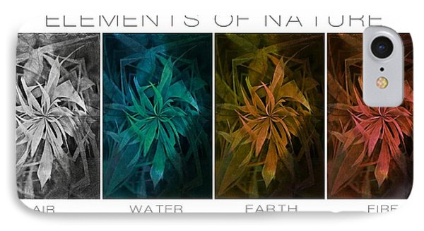Elements Of Nature IPhone Case by Marianna Mills