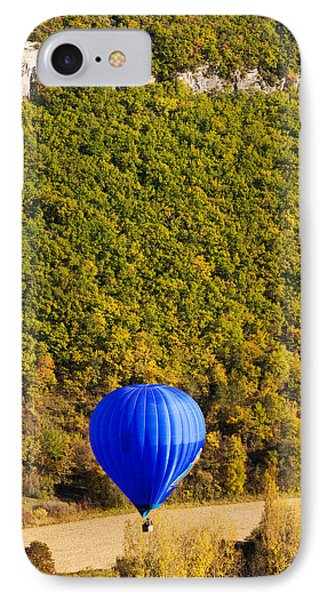 Elevated View Of Hot Air Balloon IPhone Case by Panoramic Images