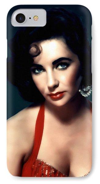 Elizabeth Taylor  IPhone Case by Georgiana Romanovna