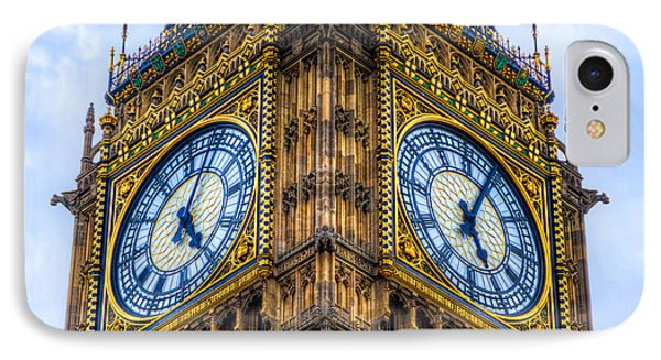 Elizabeth Tower Clock IPhone Case by Tim Stanley