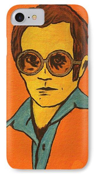 Elton John IPhone 7 Case by John Hooser