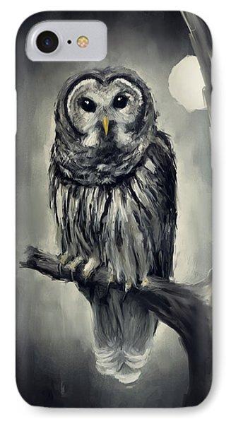 Elusive Owl Phone Case by Lourry Legarde