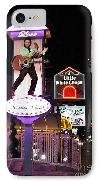 Elvis Lives Phone Case by John Malone