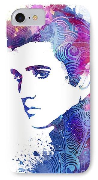 Elvis Presley IPhone Case by Luke and Slavi