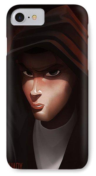 Emenem  IPhone Case by Nelson Dedos Garcia