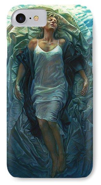 Emerge Painting Phone Case by Mia Tavonatti