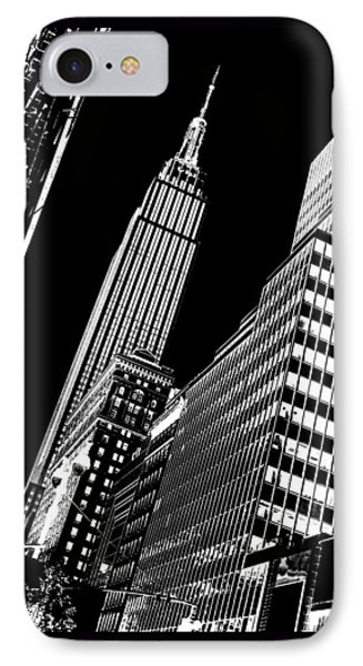 Empire Perspective IPhone Case by Az Jackson