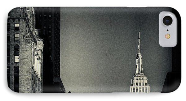 Empire State Building 2 New York City IPhone Case by Sabine Jacobs