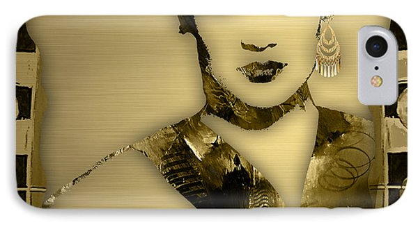 Empire's Grace Gealey Anika Gibbons IPhone Case by Marvin Blaine