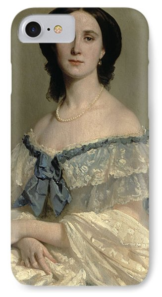 Empress Charlotte Of Mexico IPhone Case by Isidore Pils