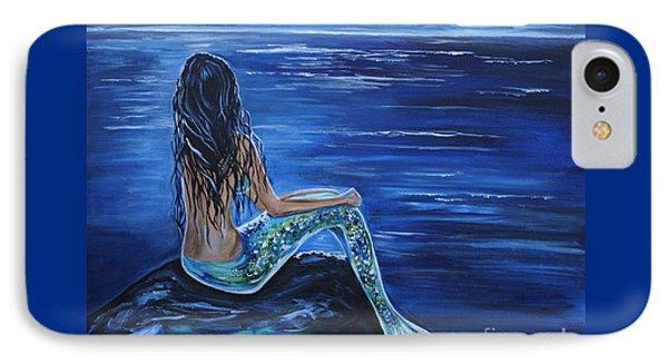 Enchanting Mermaid IPhone 7 Case by Leslie Allen