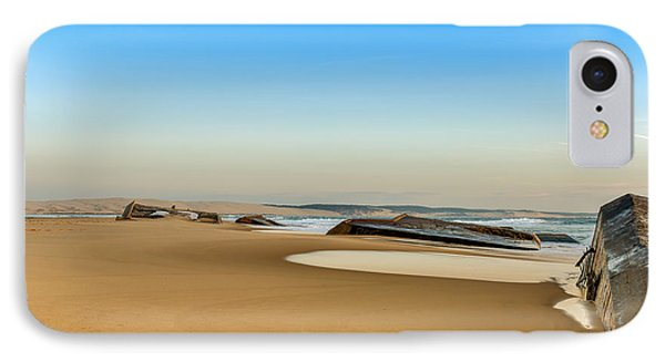 IPhone Case featuring the photograph End Of The World by Thierry Bouriat